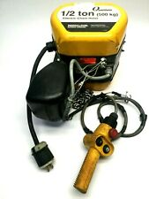 Ingersoll Rand Q50 1nd50e10 11 4cp Quantum Electric Chain Hoist 12 Ton