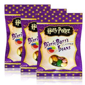 3x-Jelly-Belly-Beans-Harry-Potter-Bertie-Bott-s-Bean-Zauber-Bohnen-Bean-Boozled