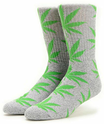 HUF PlantLife Marijuana Leaf socks Weed Crew Socks One size NWT Choose a color!