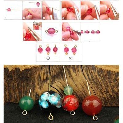 300Pcs Jewelry Basics Metal Eye Pins Needles Findings 9 Headpins Jewelry  Making   eBay