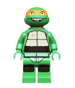 "GREAT Condition Ninja Turtle Mikey LEGO 79100 Minifigure ""Michelangelo"" TMNT"