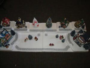 4FT. Christmas Village Display Platform C43 For Lemax Dept56 Dickens + More