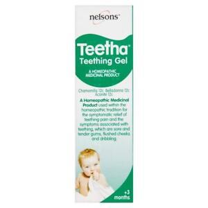 6pk Nelsons Teetha Dentition Gel 15 G Tender Gum Soulagement Douleur Médicament Homéopathique-afficher Le Titre D'origine