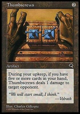 1x Phyrexian Grimoire Tempest MtG Magic Artifact Rare 1 x1 Card Cards