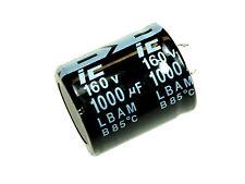 2pcs Illinois Radial Electrolytic  Capacitor 1000uF 160v
