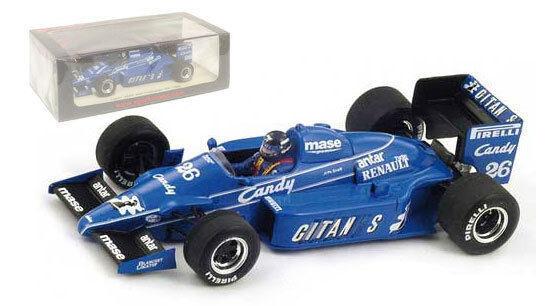 Spark s3973 LIGIER js25   26 2ème GP australien 1985-Jacques Laffite, échelle 1 43,