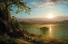 Katahdin by Frederick Edwin Church Art Print Poster 11x14 Ktaadn 1853 Mt