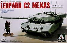 Takom 1/35 #2003 Canadian LEOPARD C2 MEXAS Main Battle Tank (w/1 Figure)
