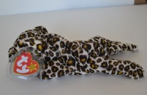 Image is loading Ty-Beanie-Babies-Baby-Freckles-Leopard-Cat-Style- a4cda4f617a4
