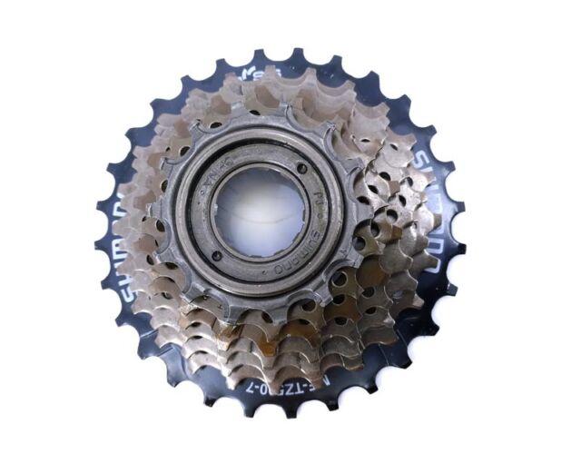 Shimano mf-tz500 fahrrad-schraubkranz para 7 VELOCIDADES 14-28 DIENTES -