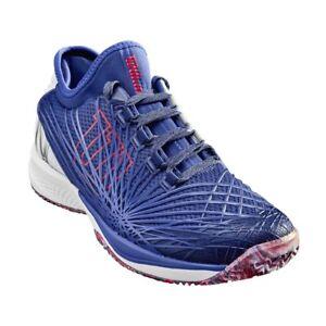 afc1de32 Wilson Kaos 2.0 SFT Mens Tennis Court shoes sneakers - Blue ...