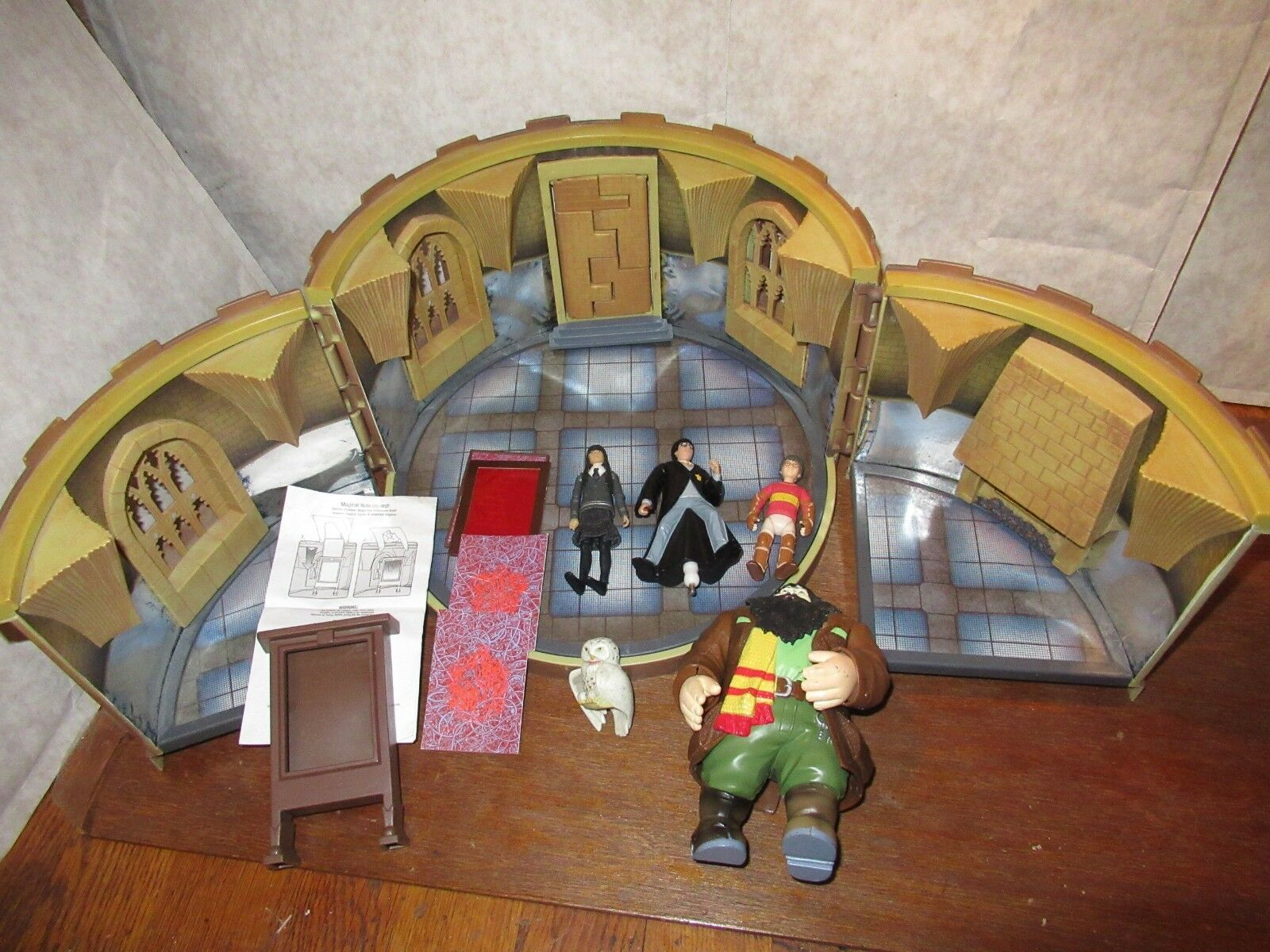 Bundle Harry Harry Harry Potter Room of Requirement figure toy playset Cho Chang Hagrid set 5beb77