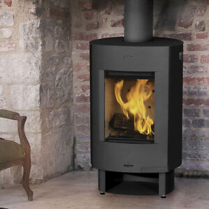 Marvelous Details About 5Kw Danburn Mando Modern Wood Burning Stove Steel Construction 2 Year Warranty Download Free Architecture Designs Salvmadebymaigaardcom