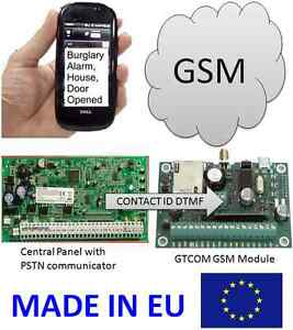 Details about GSM ALARM COMMUNICATOR CONTACT ID TO SMS CONVERTER iButton  Remote controller