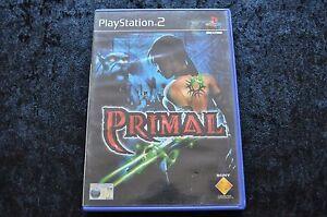 Primal-Geen-Manual-Playstation-2-PS2