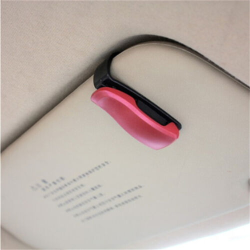 Fashion Car Vehicle Sun Visor Sunglasses Eye Glasses Card Pen Holder Clip CarD/_X