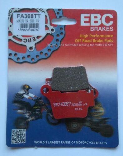 """2011 to 2013 KTM XC 150 EBC /""""TT/"""" REAR Brake Pads FA368TT 1 Set"""