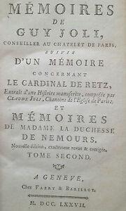 Joli-1777-memoires-Cardinal-Retz-Duchesse-Nemours