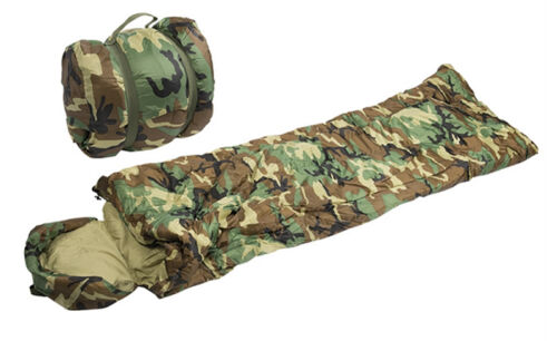 Army Combat Military Lightweight Mummy Surplus Pilot Camping Sleeping Bag New