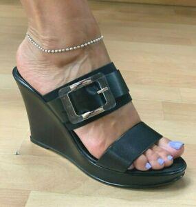 Italian Shoemakers Wella High Wedge Platform Sandals Choose Sz//Color