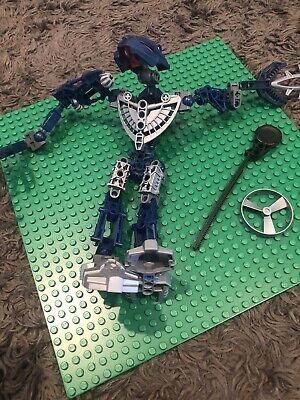 Pre-Owned LEGO 8737 Bionicle Metru Nui Toa Hordika Nokama With Rhotuka Spinners
