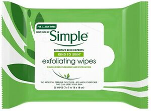 Simple-Exfoliating-Facial-Wipes-25-Each-Pack-of-6