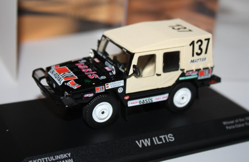 VW ILTIS Winner of the 1980 Paris-Dakar Rally 840227 1 43 Norev