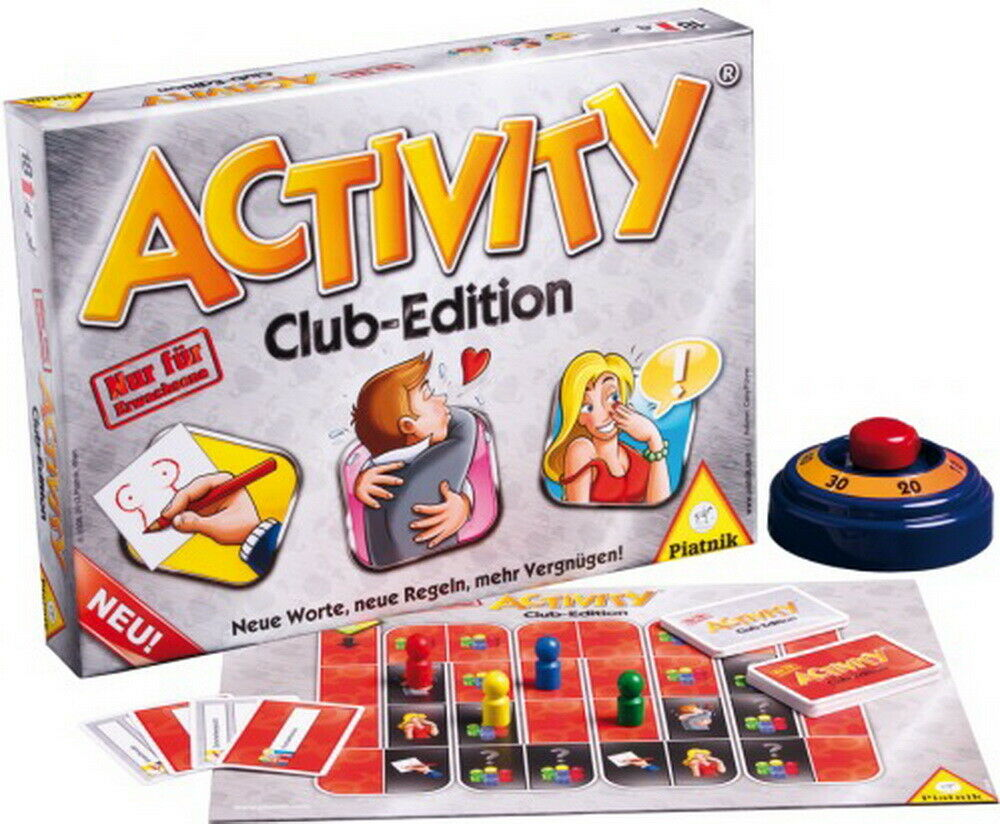Activity Club Edition à partir de 18 ans NEUF
