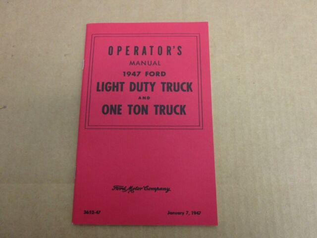 Chevrolet 1 Ton Pick Manual Guide