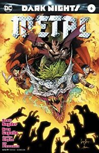 Kubert Variant DC NM+ Dark Nights Metal 6  Capullo Foil Stamped 1st Print