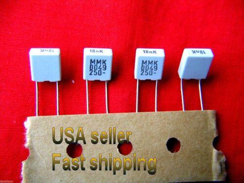 250v  metalized film poly capacitors 25 pcs 0.018uf, 18nf .018uf