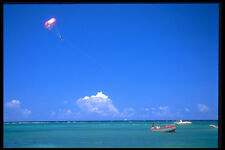 328032 Para sailing Seven Mile Beach Negril A4 Photo Print