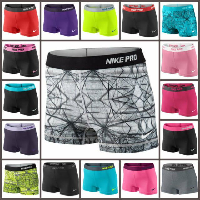 NEW WOMENS NIKE PRO COMPRESSION SHORTS (2.5 INCH) - LAST FEW IN STOCK - SAVE 25%