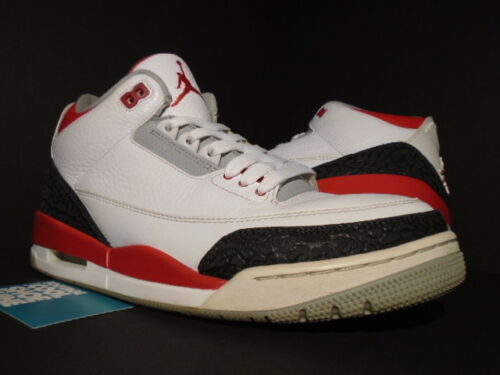 Iii Nike Gris Retro 120 5 Og Rojo Air Fire Cemento White Negro Jordan 10 3 136064 Ear1xfwaq