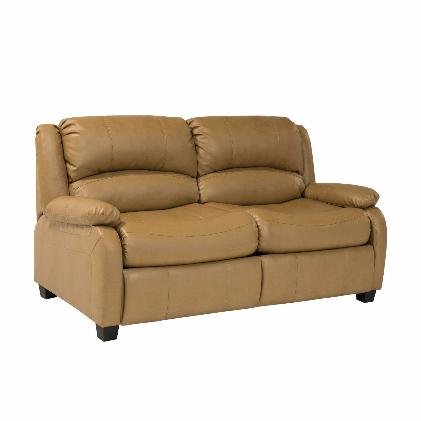 Recpro Charles  Rv Hide A Bed Sofa Sleeper Toffee Memory Foam