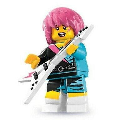 Hippie Lego Minifigure 8831 Series 7 fillmore - Brand New Not Sealed NEW