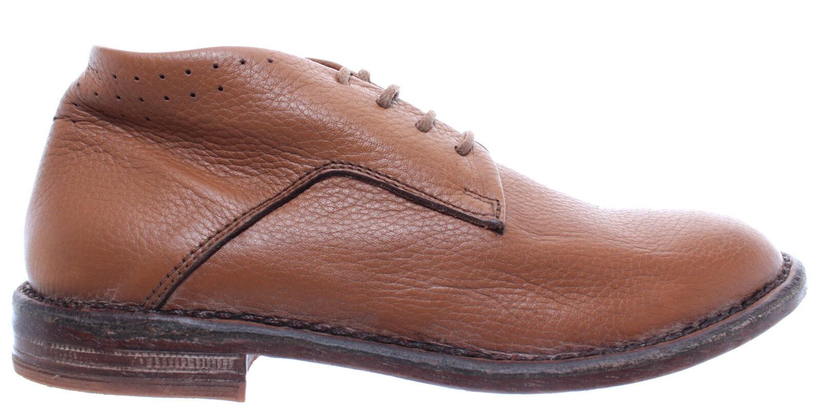 MOMA Chaussures Femmes Bottines 35802-y1 Marron clair Cuir Nouveau