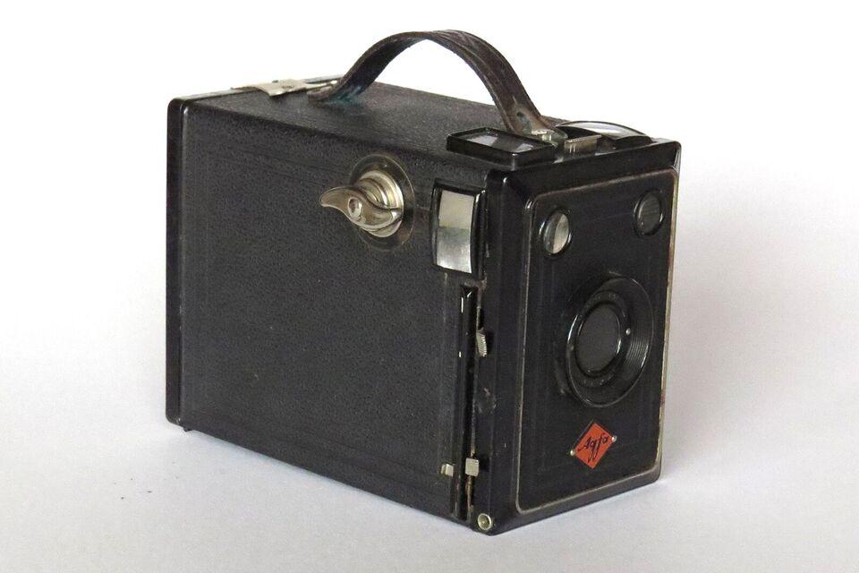ANTIKT KAMERA, Agfa Kamera 6+9 cm, Box