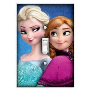 Frozen Sisters Single Toggle Light Switch Cover Decorative Switch
