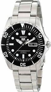Seiko-5-SNZF17K1-Sports-Automatic-Black-Dial-Sea-Urchin-Steel-Men-Watch