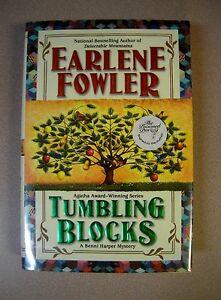 Tumbling-Blocks-by-Earlene-Fowler-Signed-1st-1st-Berkley-2007HC