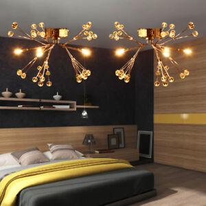 2 lampadario soffitto di cristallo cucina moderna camera da letto salotto decor ebay - Lampadario camera letto ...