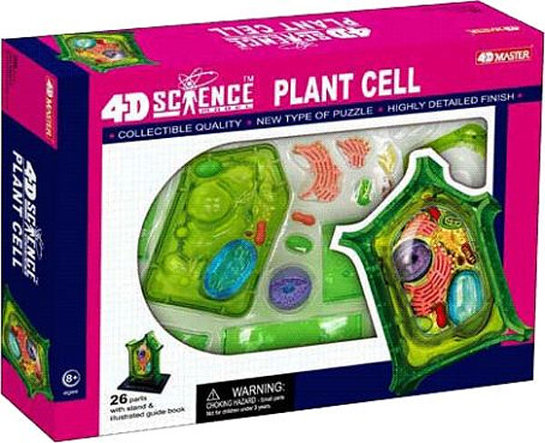 NEW IN BOX 4D Master PLANT CELL Science Model Kit - 26 pieces