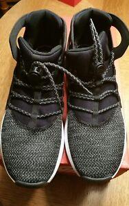 66e7dd01bf97 Nike Flight Huarache Ultra Men s 10 Shoe Sneakers Black White Volt ...