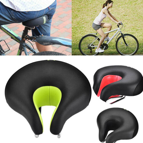 Comfort Ergonomic Mountain Bike Cycling Bicycle Noseless Saddle Cushion Seat Pad
