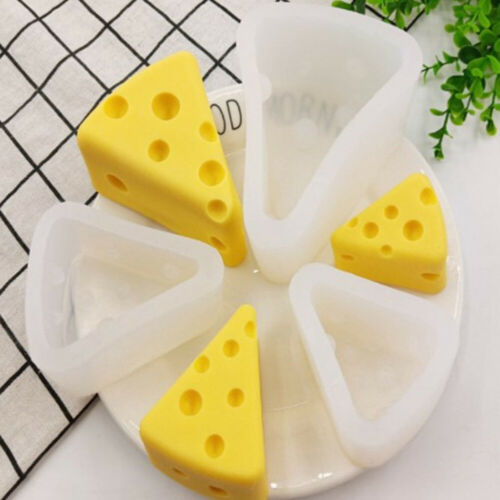 Non-stick Cheese Shape Silicone Cake Mold Chocolate Dessert  Baking Tool