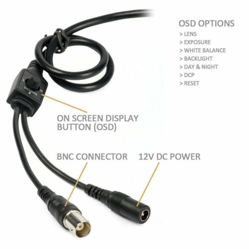 1080P AHD CVI TVI Analog 4-in-1 Full 2.6MP 42IR OSD Menu Security Camera 2MN
