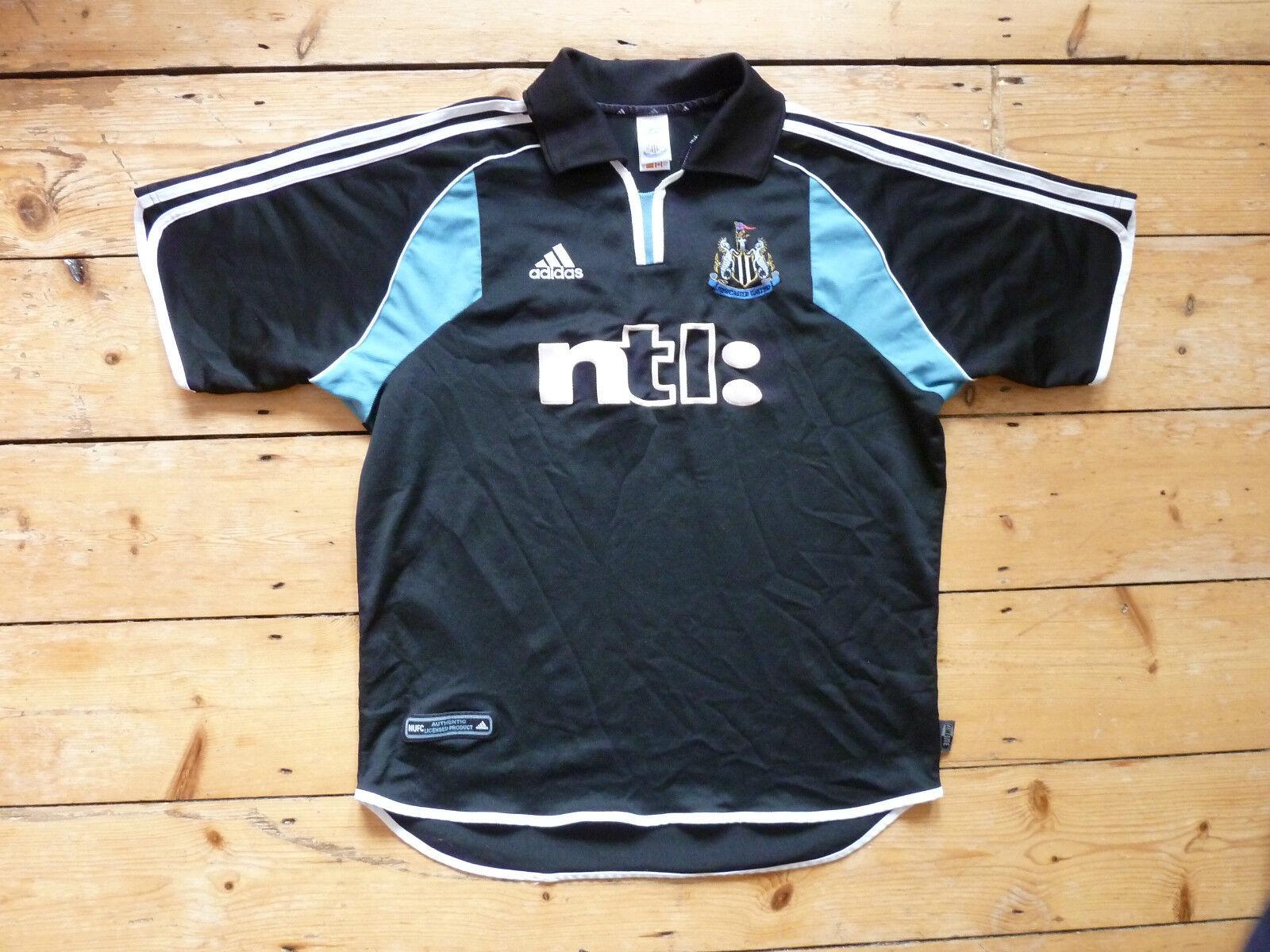 XL + Newcaste United Fußballtrikot Ntl Auswärtsspiel Top Top Top 2000 Adidas a3f6d6