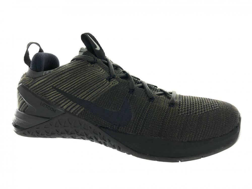 Men's Nike Metcon DSX Flyknit 2 Cross Training shoes 924423-008 Green Size 10