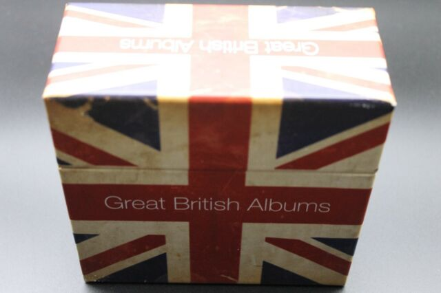 Various - Great British Albums (2012) (20xCD) (Sony Music ‎– 88725402632)